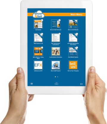 emedia content management iPad app