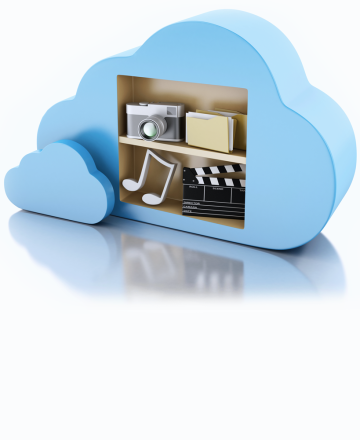 cloud based online content management system